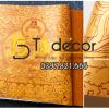 Bề mặt giấy dán tường phật giáo họa tiết phật tổ 3D305