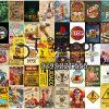 Combo 50 hình Decal dán tường trang trí decor quán bia quán Bar Pub 04