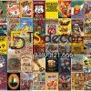 Combo 50 hình Decal dán tường trang trí decor quán bia quán Bar Pub 01